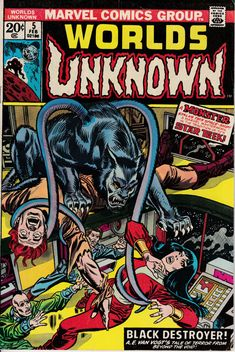 Unknown Worlds 5 February 1974 Issue  Marvel Comics  Grade