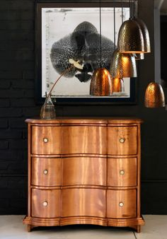Copper chest of draws at Weylandts