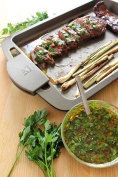 Receta argentina - I Cook Different Sauce Recipes, Cooking Recipes, Healthy Recipes, Argentine Recipes, Argentina Food, Salsa Verde, Carne Asada, International Recipes, I Foods
