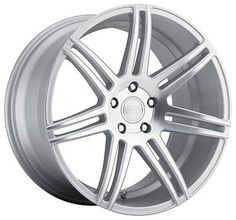 One 20x10.5 Concept One CSM-7 5x114.3 27 Matte Silver Machined Wheel New