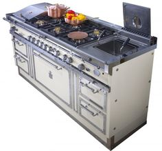 Range cookers and professional kitchen appliances - Steel Professional Kitchens - range cookers - Officine Gullo - Cooking machines - Florence
