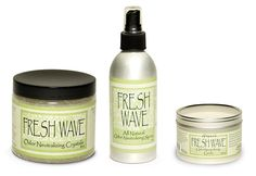 Green Home Kit & Kitchen Candle — Sometimes the house can be a little smelly; pets, athletes, recipes gone bad... These environmentally-friendly products are a natural way to make your home smell fresh and clean again!