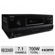 coby dvd938 5 1 channel dvd home theater system black plus the sony str dh520 7 1 channel a v receiver you can