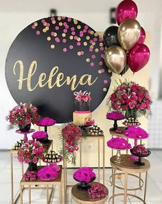 New birthday party deko girl 42 ideas Diy Birthday Decorations, Balloon Decorations, Elegant Party Decorations, 40th Birthday Parties, Birthday Celebration, Girl Birthday, Shower Party, Shower Games, Party Time