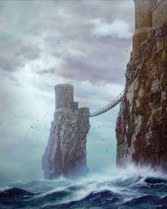 Pyke by Ted Nasmith  - A Song of Ice and Fire #got #agot #asoiaf