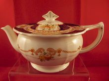 """Alfred Meakin England """"Caledonia"""" Decor Teapot c. 1930. *SOLD*"""