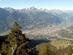 Aosta, Italy - World Travel Guide Switzerland Places To Visit, Saint Christophe, Aosta Valley, World Travel Guide, Austria Travel, Regions Of Italy, Messina, Sardinia, Aerial View