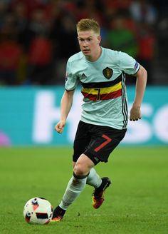 El belga Kevin de Bruyne lo intentó casi todo menos el gol (Euro 2016).