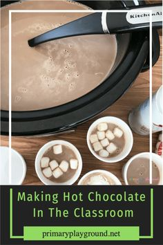 You're class will be so excited to have hot cocoa in the classroom with you!