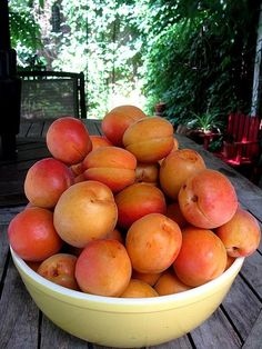 'a' is for apricots