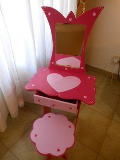 Tocador / Mueble / Set Belleza Infantil P/ Nenas Fifbrofacil - $ 329,00