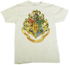 &17.99 Size Large. Harry Potter Coat of Arms T-Shirt.