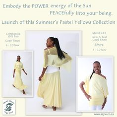 win win win Pastel Yellow, Yoga Wear, Bat Wings, Off The Shoulder, Sunshine, Ballet Skirt, Product Launch, Skirts, Summer