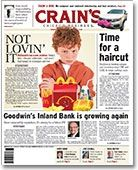McDonald's new generational problem: Kids don't like Happy Meals - In Other News - Crain's Chicago Business