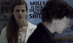 """She made Steven Moffat break his own rules. 