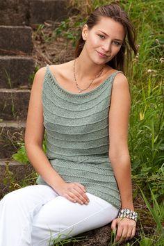 Elegant, strikket top