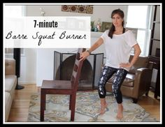 7-minute barre squat burner