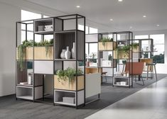 National Office Furniture Introduces New Solutions Focused on Artistry and Functionality - AAHID Space Dividers, Create Space, Office Furniture, Contract Furniture, Furniture Ideas, Storage Solutions, Design Inspiration, Interior Design, Home Decor