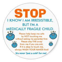 Free Printable Germ Free Zone Sign Preemie Babies 101