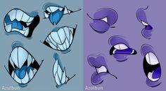 Mouths by AzulBun