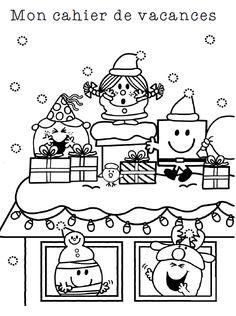 Cahier des vacances de Noël