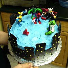 super hero cake - Google Search