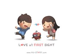 """Check out the comic """"HJ-Story :: Love at First Sight"""" http://tapastic.com/episode/31339"""