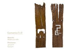 Geometrias I y II Bacon, Sculptures, Pork Belly