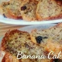 Mini Loaf Banana Cake no Mixer Cake Pisang rempah chocochips mini