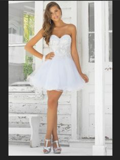 Short Beach Wedding Dress That Could Be Used For After Ceremony Engagement Photo Outfit