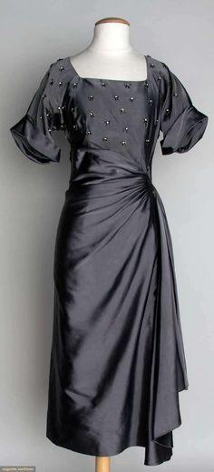 Cocktail Dress, 1940s, Augusta Auctions