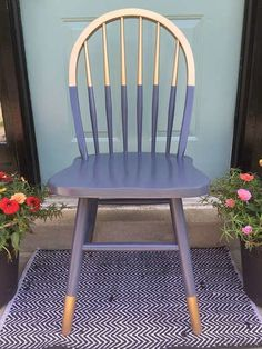 DIY Painted Chair