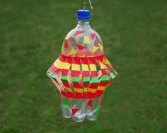 Wind Spinner - with a soda bottle