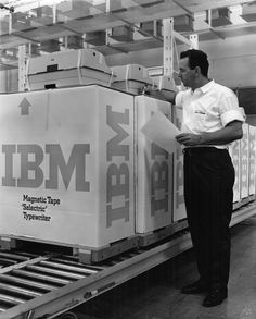 How to design an enduring logo: Lessons from IBM and Paul Rand — Quartz Annual Report Covers, Magnetic Tape, Bar Logo, Corporate Communication, Magazine Ads, Store Displays, Past Life, Tv Commercials, One Design