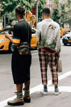 All the Best Street Style From New York Fashion Week: Men's