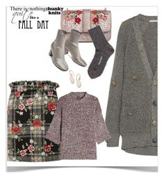 """""""Fall Sweater"""" by peeweevaaz ❤ liked on Polyvore featuring Ted Muehling, Topshop, Christopher Kane, Joseph, outfit, polyvoreeditorial, chunkyknits and polyvorefashion"""