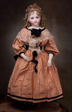 Fashion Doll, Emile Jumeau, 1875