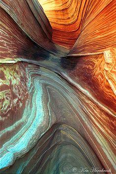 """""""Patterns in Nature in the Vermillion Cliffs"""" by Ken Hornbrook"""