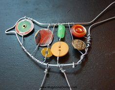 33 Amazing Diy Wire Art Ideas | Amazing Online Magazine