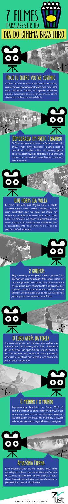 #Cinema #Brasil #Filmes #Entretenimento #Infográficos #Movies