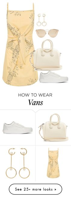 """Untitled #4624"" by magsmccray on Polyvore featuring Vans, Givenchy, Christian Dior and Chloé"