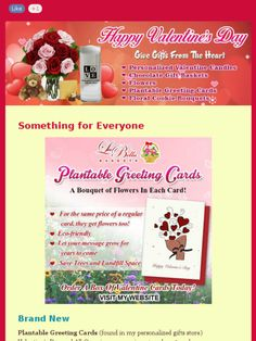 Gift Ideas for Valentine's Day Save time and money!  Check out this Mad Mimi newsletter www.myenchantedgifts.labellabaskets.com