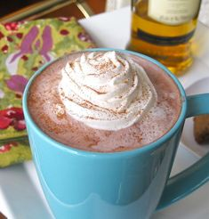 Hot Chocolate w/ Whiskey
