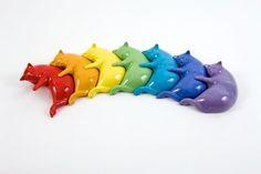 rainbow cats!