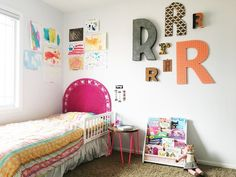 Project Nursery - Eclectic Big Girl Room Kids Art Gallery Wall Whimsical Girl's Room - Project Nursery