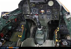 The cockpit of a Danish Draken Saab 35 Draken, Swedish Air Force, F35, Military Aircraft, High Quality Images, Airplanes, Jets, Swords, Danish