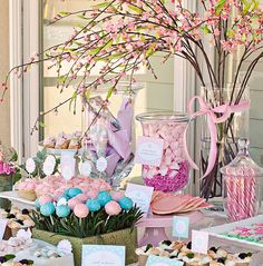 Cake Pop Flower Arrangement | ... , cake pops growing in the garden, and pretty pastel colors- LOVE