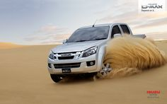 playing in the sand - Isuzu Ute D-MAX Ute, Offroad, Off Road