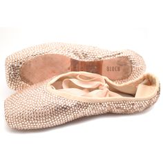 cbb2f906ea80 Custom decorated pointe shoes! We cover YOUR worn pointe shoes with Swarovski  crystals in your