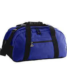 c3263d4c9d Augusta Medium Ripstop Duffel Bag 1702 PURPLE BLACK